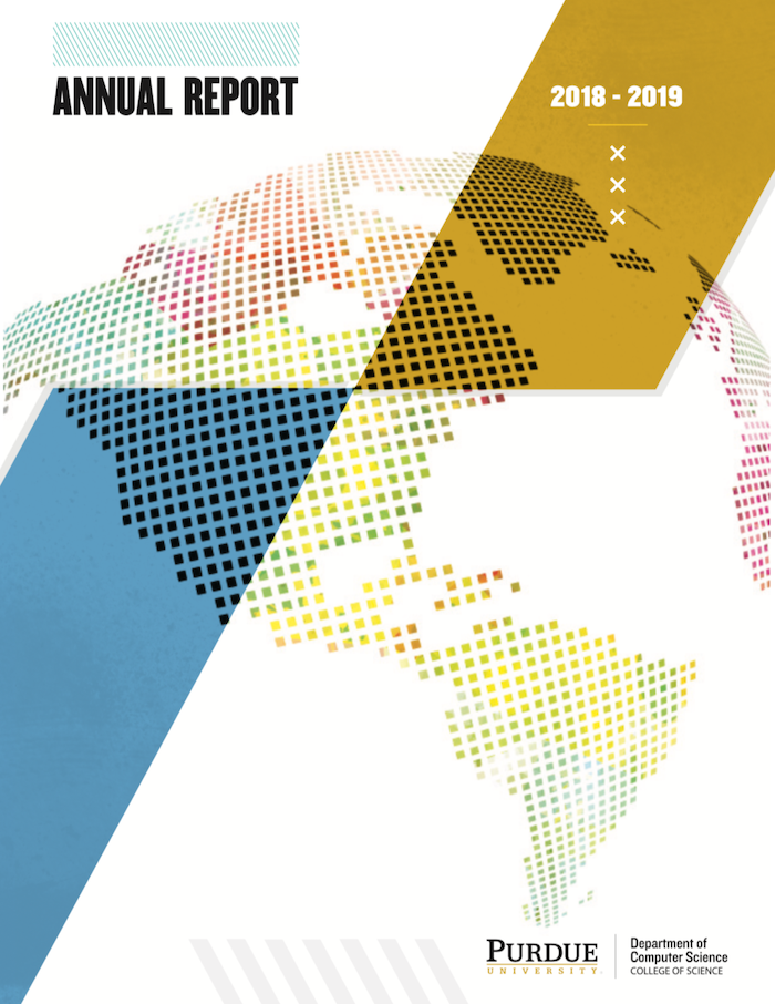 cover of the annual report 2018-2019