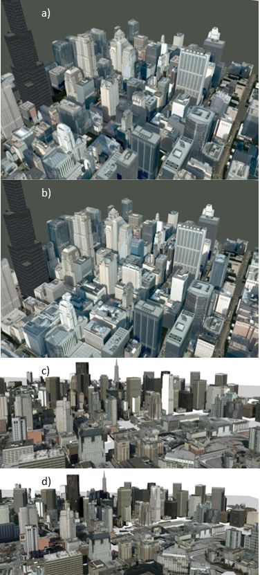 Urban Procedural Modeling - Urban Modeling and Visualization