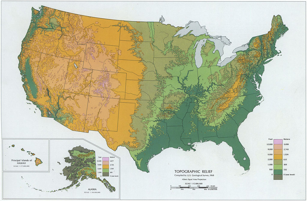 United States Map Online Maps Of United States Country Maps