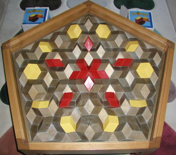 You Can Form More Figures With Two Sets Of Rhombo Blocks. Indeed, If You  Take The Ten Pointy Rhombohedra (the Red Ones), You Can Form What Has Been  Called ... Amazing Pictures