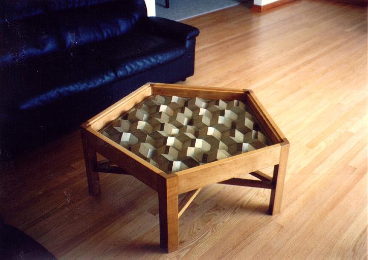 My Pentagonal Coffee Table