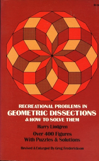 Image result for Recreational problems in geometric dissections and how to solve them