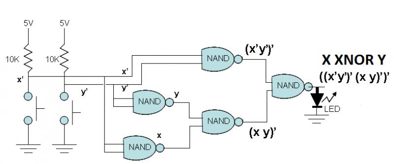 on xnor wiring diagram